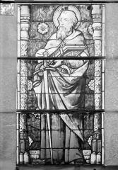Eglise Saint-Gengoult et son cloître - Vitrail de la façade ouest, sixième lancette à gauche 16, 17, 18
