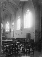Eglise paroissiale Saint-Thibault - Vue intérieure du choeur vers le sud-est