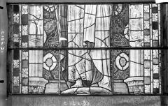 Ancienne cathédrale Saint-Etienne et son cloître - Vitrail du transept nord, fenêtre C, panneau médian
