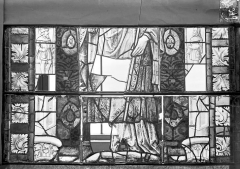 Ancienne cathédrale Saint-Etienne et son cloître - Vitrail du transept nord, fenêtre D, panneau médian