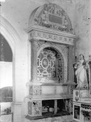 Ancienne collégiale, actuellement église Sainte-Marie-Madeleine - Tombeau de Guy III d'Espinay, mort en 1551, et de sa femme Louise de Goulaine
