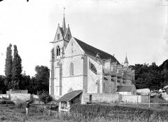 Eglise Notre-Dame de l'Assomption de la Chapelle-sur-Crécy - Ensemble sud-ouest
