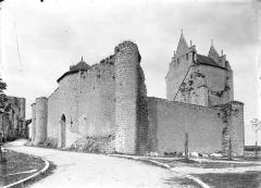 Château d'Harcourt - Ensemble sud-est