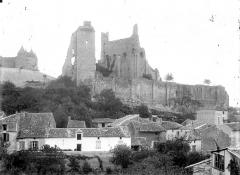 Château baronial ou des Evêques de Poitiers - Ensemble sud-ouest