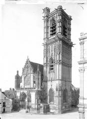Eglise Saint-Martin (ancienne collégiale) - Ensemble sud-ouest