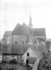 Eglise Saint-Genès (anciennement église prieurale Saint-Etienne) - Ensemble est
