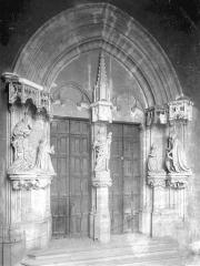 Ancienne chartreuse de Champmol, actuellement centre psychothérapique de Dijon - Portail de l'ancienne église