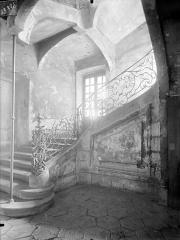 Immeuble - Vue intérieure : Escalier
