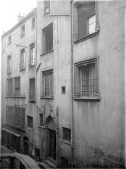 Maison du 15e siècle - Façade  sur rue