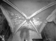 Hôtel Mallet de Vendègre, à Montferrand - Vue intérieure : Voûte du rez-de-chaussée