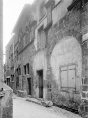 Hôtel de la Chanterie, à Montferrand - Façade sur rue