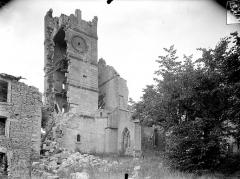 Eglise Saint-Martin - Façade sud : Clocher