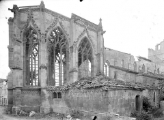 Eglise Saint-Martin - Abside, côté nord
