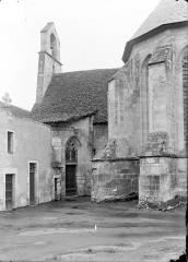 Ancienne chartreuse Saint-Sauveur - Transept sud et partie de l'abside, côté est
