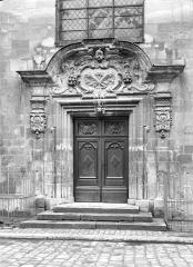 Ancien Hôpital Saint-Joseph - Chapelle Saint-Nicolas : Portail d'entrée sur rue