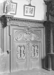 Ancien Hôpital Saint-Joseph - Chapelle Saint-Nicolas : Porte