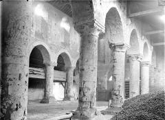 Ancienne église Saint-André - Vue intérieure du bas-côté nord et de la nef, vers le sud-ouest