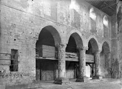 Ancienne église Saint-André - Vue intérieure de la nef, côté sud