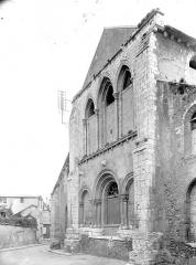 Ancienne église Saint-André - Façade ouest en perspective