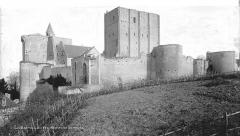 Château et son enceinte - Vieux Château : Ensemble sud