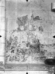 Cathédrale Saint-Pierre - Peinture murale, côté droit du choeur, le Christ au Jardin des Oliviers