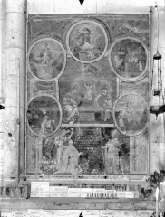 Cathédrale Saint-Pierre - Peinture murale, côté gauche du choeur