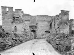 Porte de Laon et remparts - Intérieur