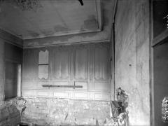 Ancienne abbaye - Salon des hommes, intérieur