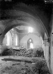 Ancienne abbaye - Chapelle, intérieur