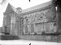 Eglise Saint-Jacques - Façade latérale, partie
