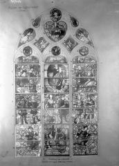 Eglise Saint-Samson - Vitraux, petite chapelle nord, baie E