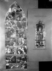 Eglise Saint-Samson - Vitraux, abside, baie G et façade ouest, baie H