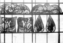 Eglise Saint-Samson - Vitraux, panneaux 21, 23, 25, 26, 28, 33 de la baie E