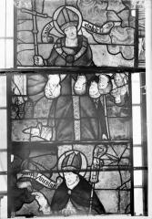 Eglise Saint-Samson - Vitraux, panneaux 3, 4, 28 de la baie F