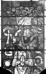 Eglise Saint-Samson - Vitraux, panneaux 16, 18, 31 de la baie F