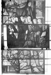 Eglise Saint-Samson - Vitraux, panneaux 5, 6, 29 de la baie F