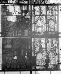Eglise Saint-Samson - Vitraux, panneaux 2, 5, 8, 11 de la baie D