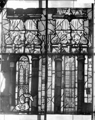 Eglise Saint-Samson - Vitraux, panneaux 4, 6, 10, 12 de la baie D