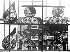 Eglise Saint-Samson - Vitraux, panneaux 1, 7, 13, 14, 16, 18 de la baie D