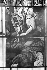 Eglise Saint-Samson - Vitraux, panneaux 4 et 11 de la baie G