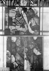 Eglise Saint-Samson - Vitraux, panneaux 1, 6 et 8 de la baie G
