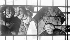 Eglise Saint-Samson - Vitraux, panneaux 14 et 15 de la baie G