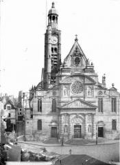 Eglise Saint-Etienne-du-Mont - Façade ouest
