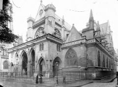 Eglise Saint-Germain-l'Auxerrois - Côté sud-ouest