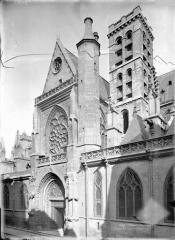Eglise Saint-Germain-l'Auxerrois - Bras sud du transept et clocher