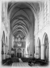 Eglise Saint-Germain-l'Auxerrois - Nef, vue du choeur