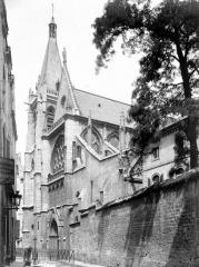 Eglise Saint-Séverin - Ensemble ouest, en perspective