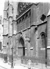 Eglise Saint-Séverin - Façade ouest