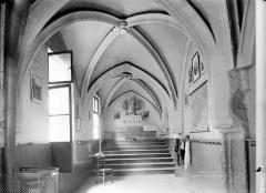 Eglise Saint-Séverin - Cloître, intérieur, avant restauration