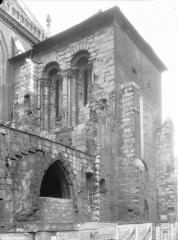 Ancienne abbaye Saint-Martin-des-Champs, actuellement Conservatoire National des Arts et Métiers et Musée National des Techniques - Clocher, partie supérieure, à l'ouest